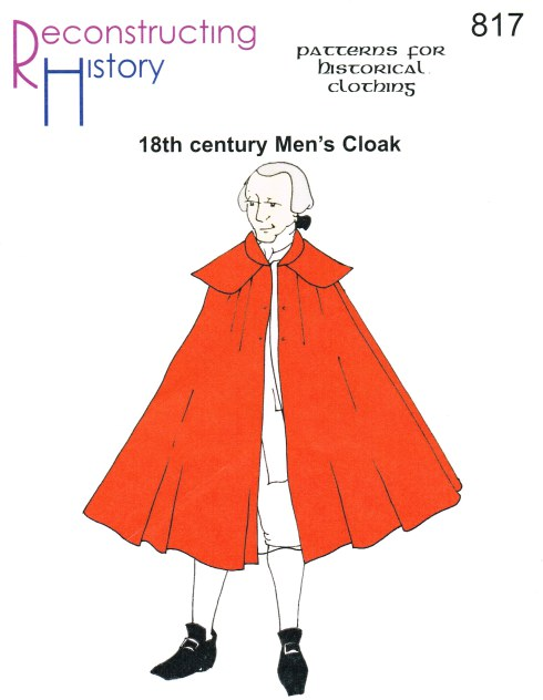 Image for RH817: 18TH CENTURY MEN'S CLOAK