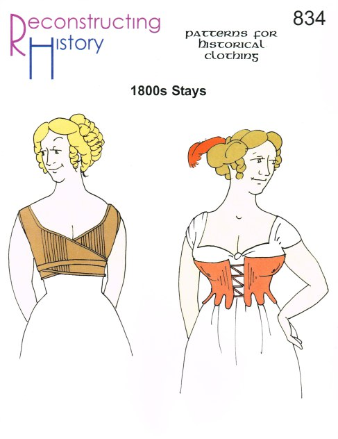 Image for RH834: EARLY 1800S STAYS (CORSETS)