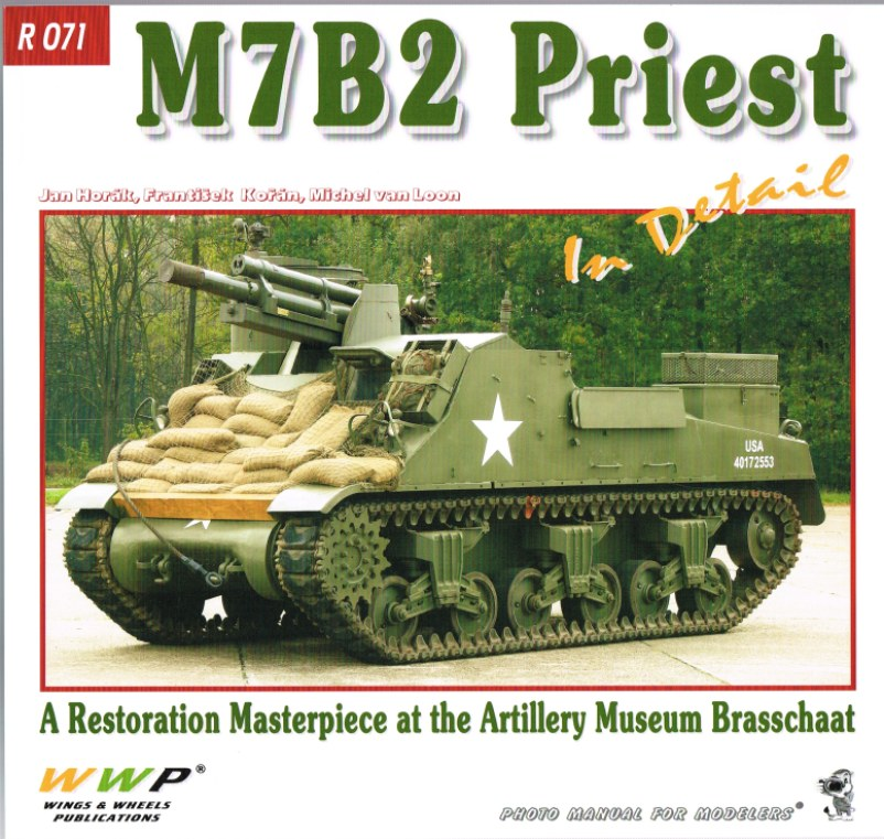 Image for M7B2 PRIEST IN DETAIL