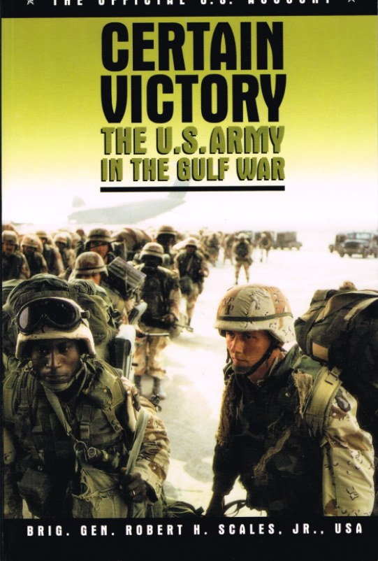 Image for CERTAIN VICTORY: THE US ARMY IN THE GULF WAR