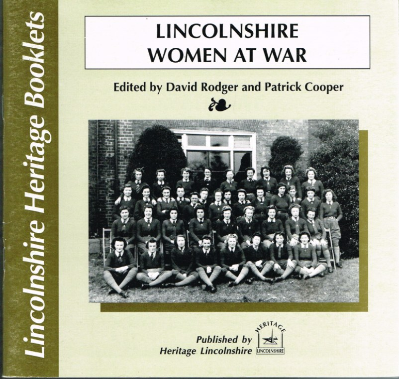 Image for LINCOLNSHIRE WOMEN AT WAR