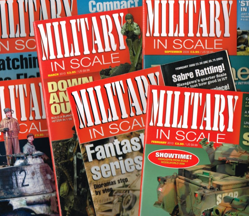 Image for MILITARY IN SCALE: MAGAZINE - BACK ISSUES IN STOCK