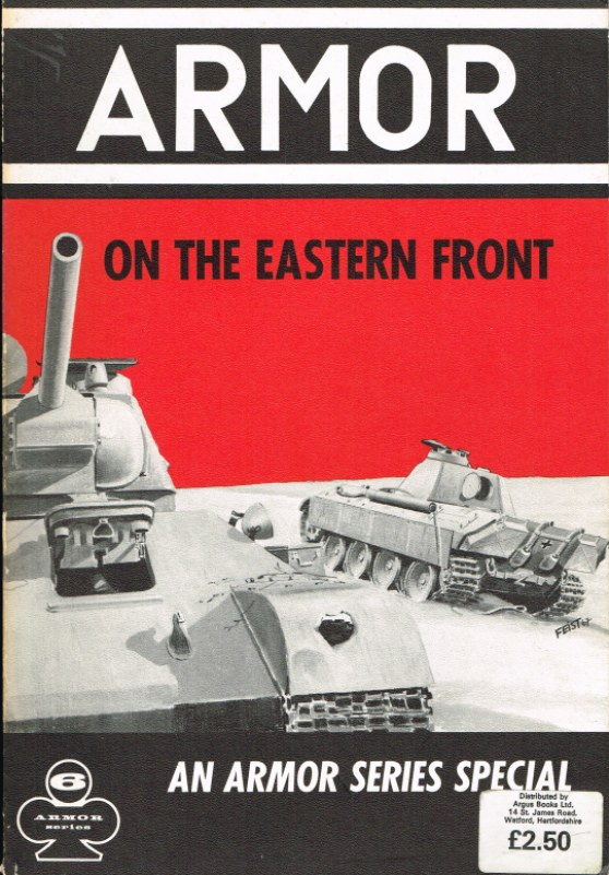 Image for ARMOR ON THE EASTERN FRONT