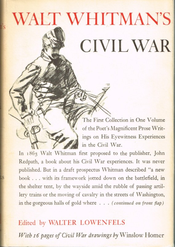 Image for WALT WHITMAN'S CIVIL WAR