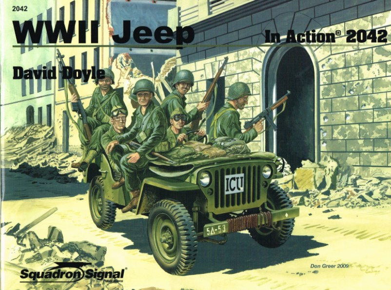 Image for WWII JEEP IN ACTION