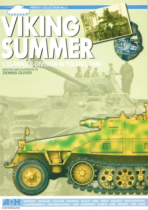 Image for VIKING SUMMER: 5.22-PANZER-DIVISION IN POLAND, 1944