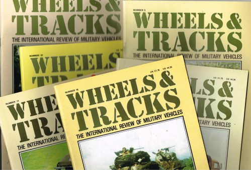 Image for WHEELS & TRACKS: THE INTERNATIONAL REVIEW OF MILITARY VEHICLES (BACK ISSUES AVAILABLE)