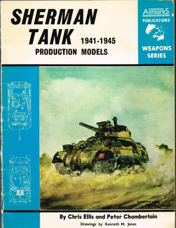 Image for SHERMAN TANK PRODUCTION MODELS 1941-1945