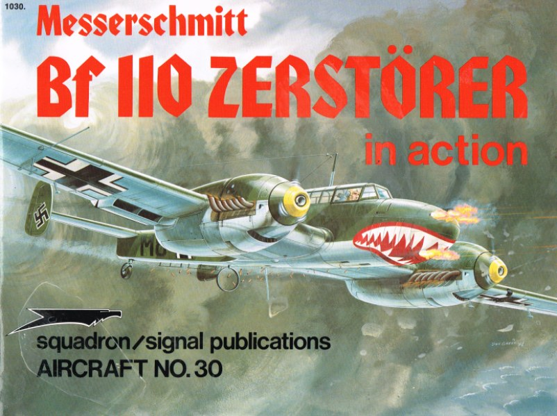 Image for MESSERSCHMITT BF 110 ZERSTORER IN ACTION
