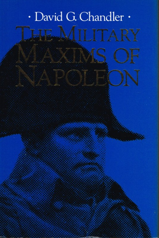 Image for THE MILITARY MAXIMS OF NAPOLEON