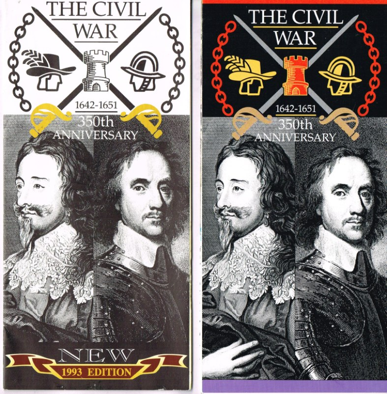 Image for THE CIVIL WAR 1642-1651: 350TH ANNIVERSARY (FOLD-OUT BROCHURE)
