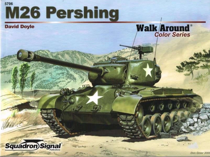Image for M26 PERSHING WALK AROUND