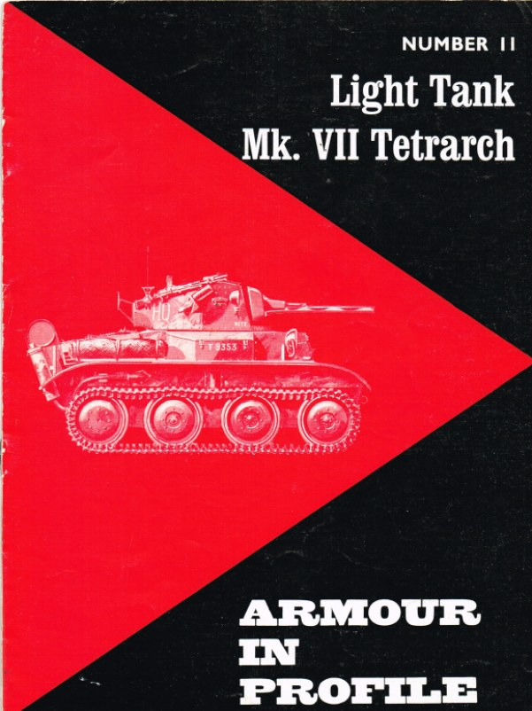Image for ARMOUR IN PROFILE 11: LIGHT TANK MK. VII TETRARCH