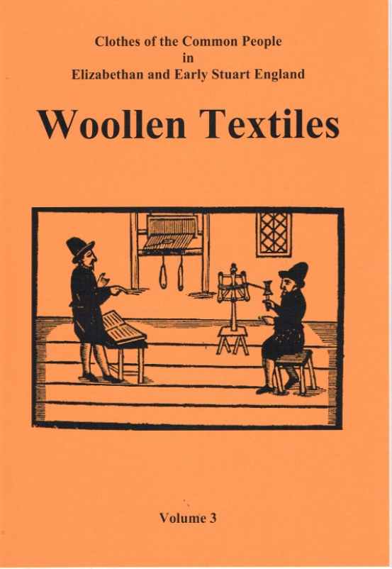 Image for CLOTHES OF THE COMMON PEOPLE VOLUME 3: WOOLLEN TEXTILES