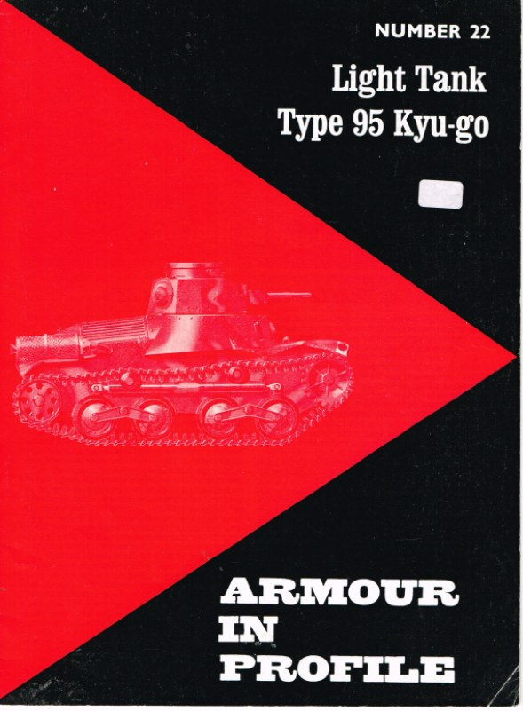 Image for ARMOUR IN PROFILE 22: LIGHT TANK TYPE 95 KYU-GO