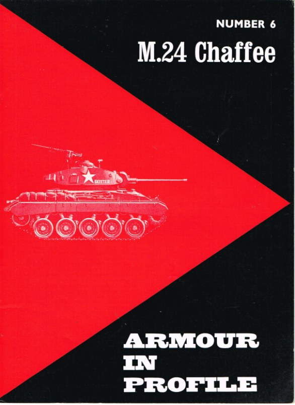 Image for ARMOUR IN PROFILE 6: M24 CHAFFEE