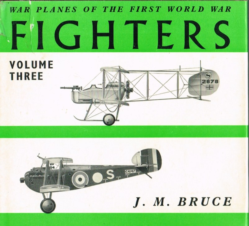 Image for WAR PLANES OF THE FIRST WORLD WAR: FIGHTERS VOLUME THREE