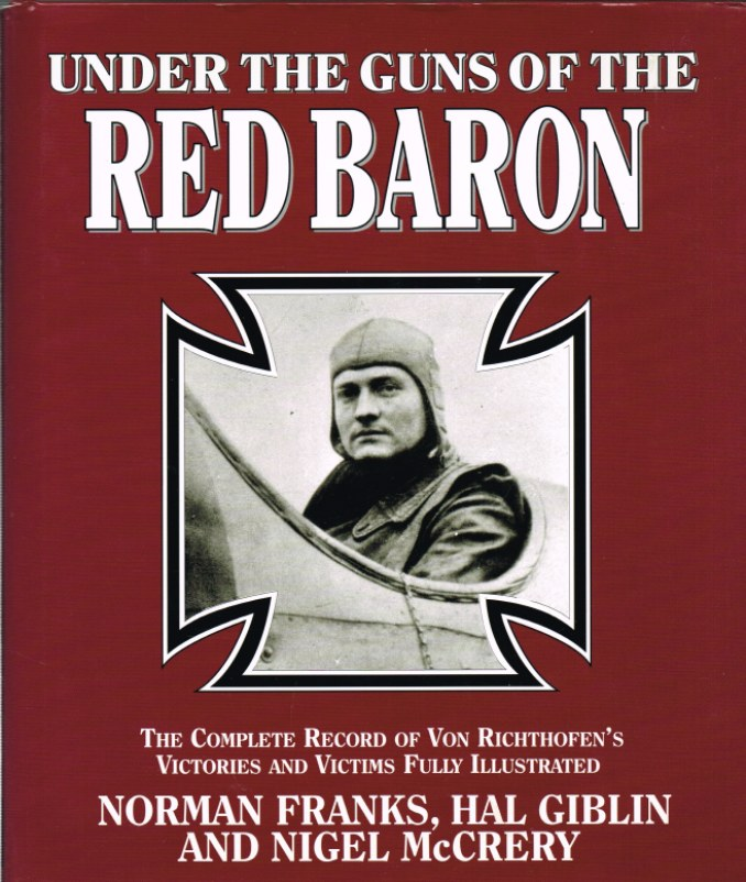 Image for UNDER THE GUNS OF THE RED BARON