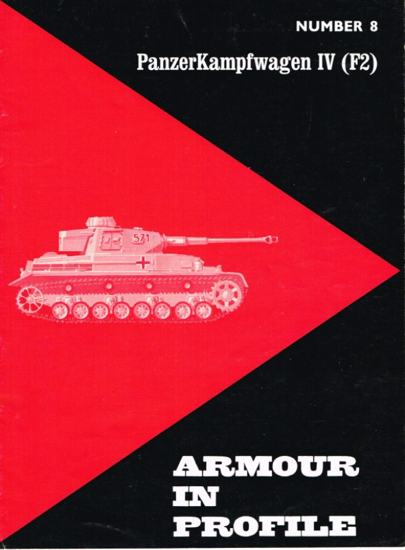Image for ARMOUR IN PROFILE 8: PANZERKAMPFWAGEN IV (F2)