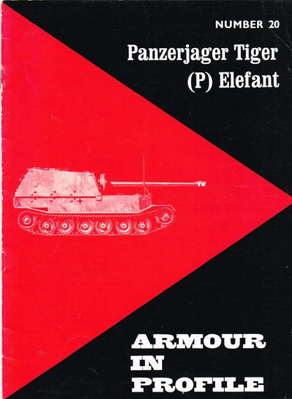 Image for ARMOUR IN PROFILE 20: PANZERJAGER TIGER (P) ELEFANT