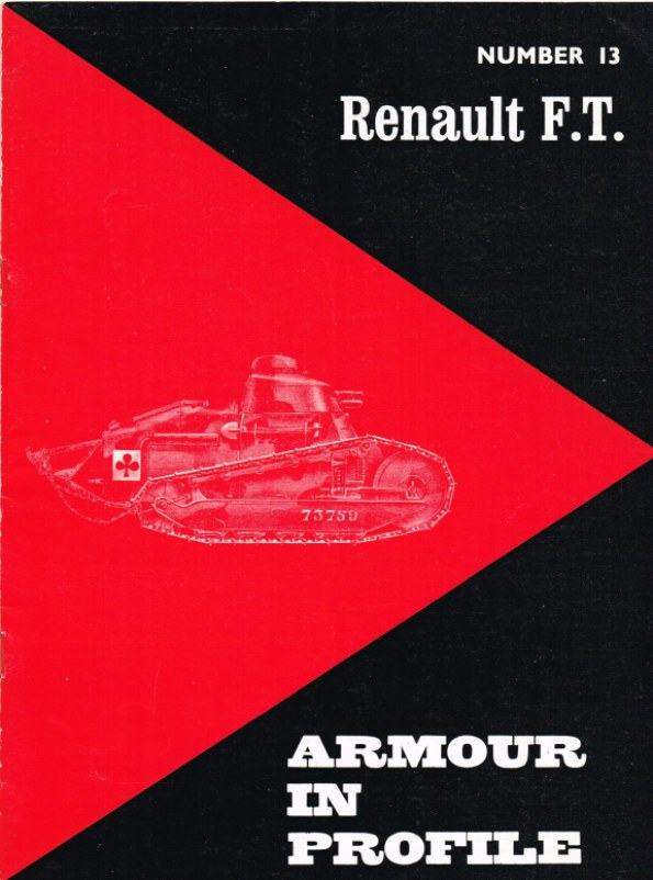 Image for ARMOUR IN PROFILE 13: RENAULT FT