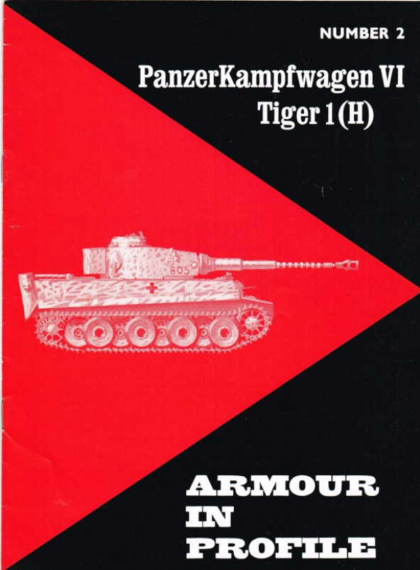 Image for ARMOUR IN PROFILE 2: PANZERKAMPFWAGEN VI TIGER 1 (H)