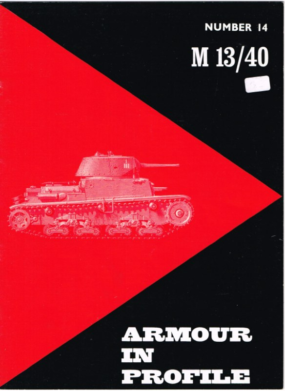 Image for ARMOUR IN PROFILE 14: M 13/40