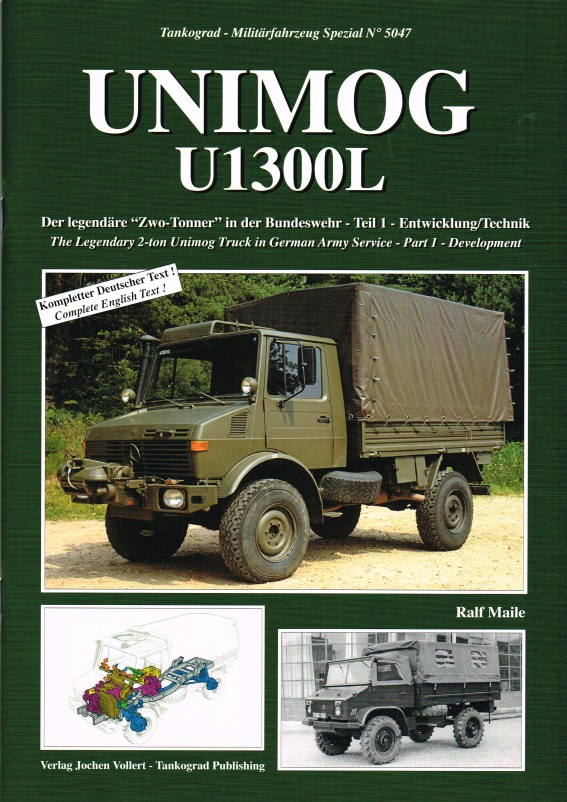 Image for UNIMOG U1300L THE LEGENDARY 2-TON UNIMOG TRUCK IN GERMAN ARMY SERVICE: PART 1 DEVELOPMENT