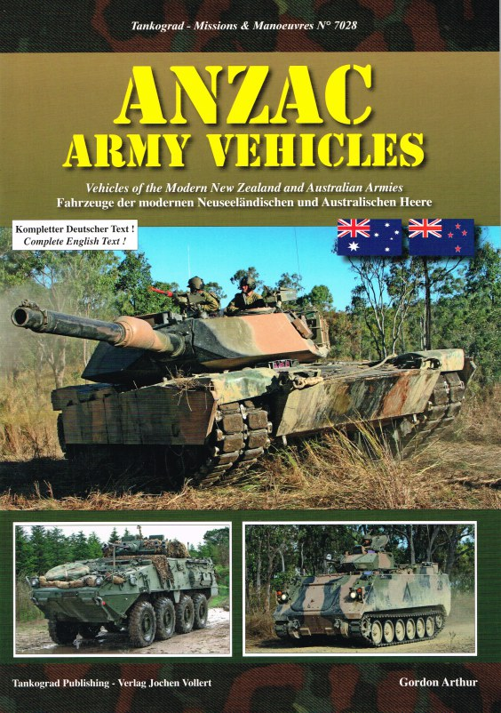 Image for ANZAC ARMY VEHICLES: VEHICLES OF THE MODERN NEW ZEALAND AND AUSTRALIAN ARMIES