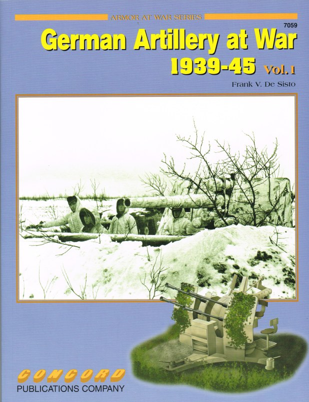 Image for GERMAN ARTILLERY AT WAR 1939-45: VOL.1
