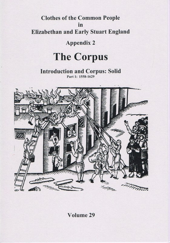 Image for CLOTHES OF THE COMMON PEOPLE VOLUME 29: APPENDIX 2 THE CORPUS INTRODUCTION