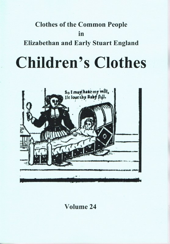 Image for CLOTHES OF THE COMMON PEOPLE VOLUME 24: CHILDREN'S CLOTHES