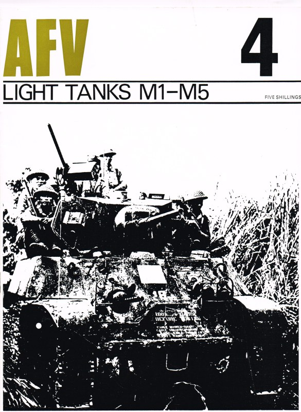 Image for PROFILE AFV 4: LIGHT TANKS M1-M5