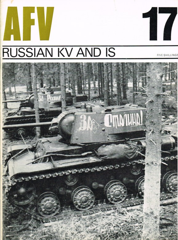 Image for PROFILE AFV 17: RUSSIAN KV AND IS