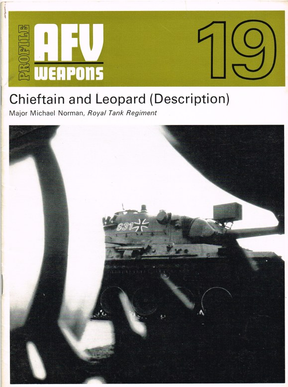 Image for PROFILE AFV 19: CHIEFTAIN AND LEOPARD (DESCRIPTION)