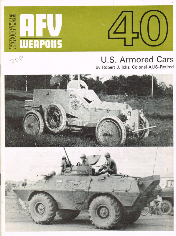 Image for PROFILE AFV 40: US ARMORED CARS