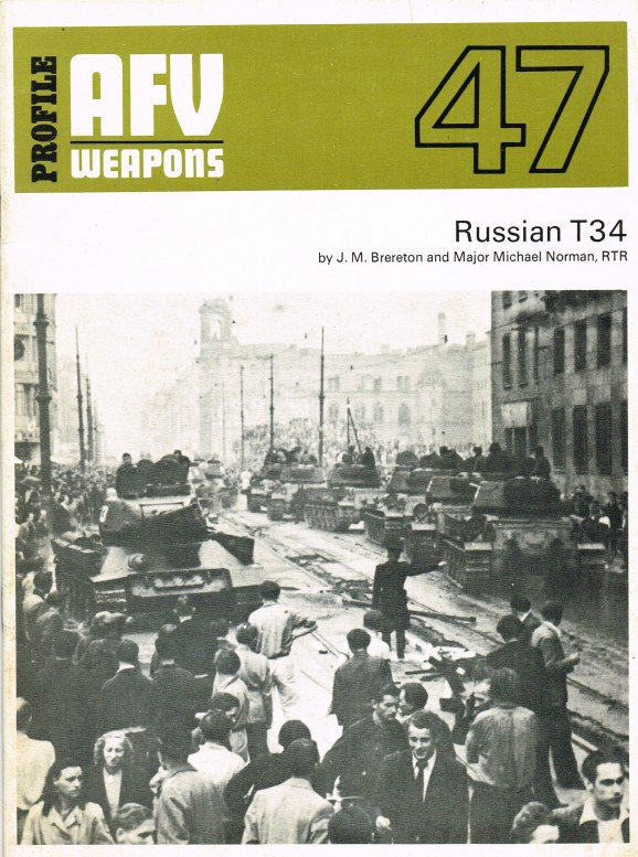 Image for PROFILE AFV 47: RUSSIAN T34