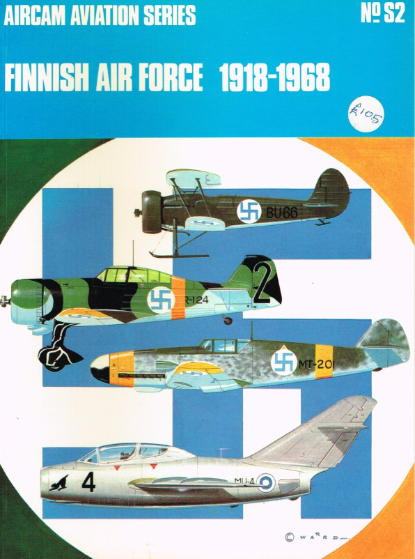 Image for AIRCAM AVIATION SERIES NO.S2 : FINNISH AIR FORCE 1918-1968