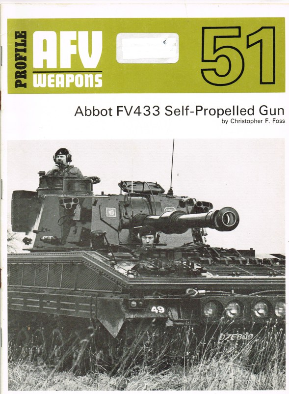 Image for PROFILE AFV 51: ABBOT FV433 SELF-PROPELLED GUN