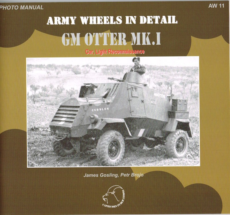 Image for ARMY WHEELS IN DETAIL: GM OTTER MK.I