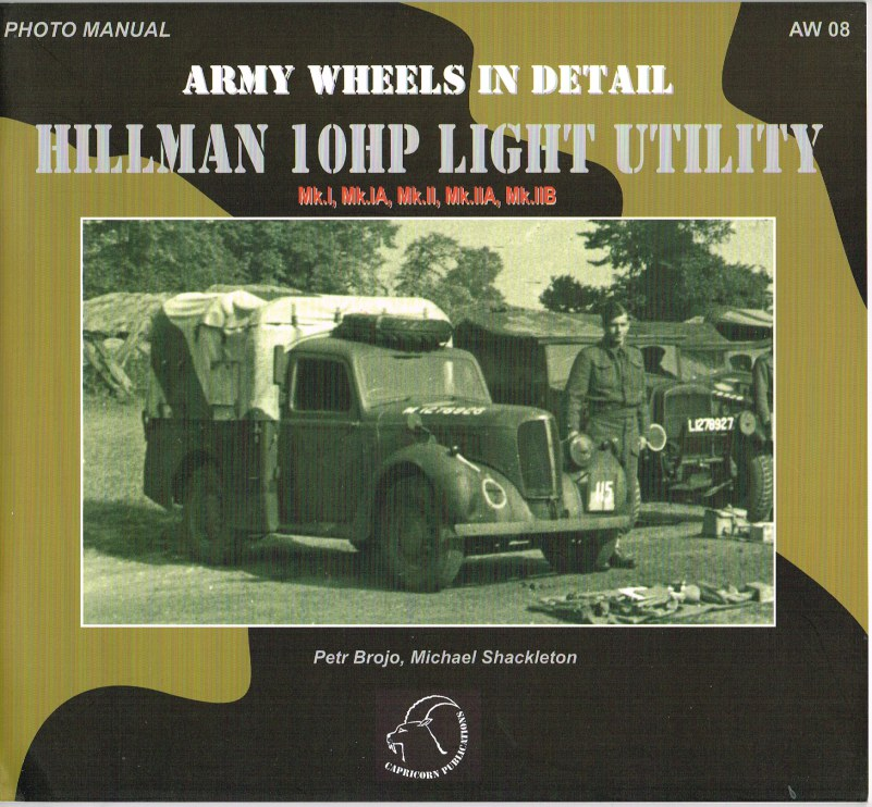 Image for ARMY WHEELS IN DETAIL: HILLMAN 10HP LIGHT UTILITY (TILLY)