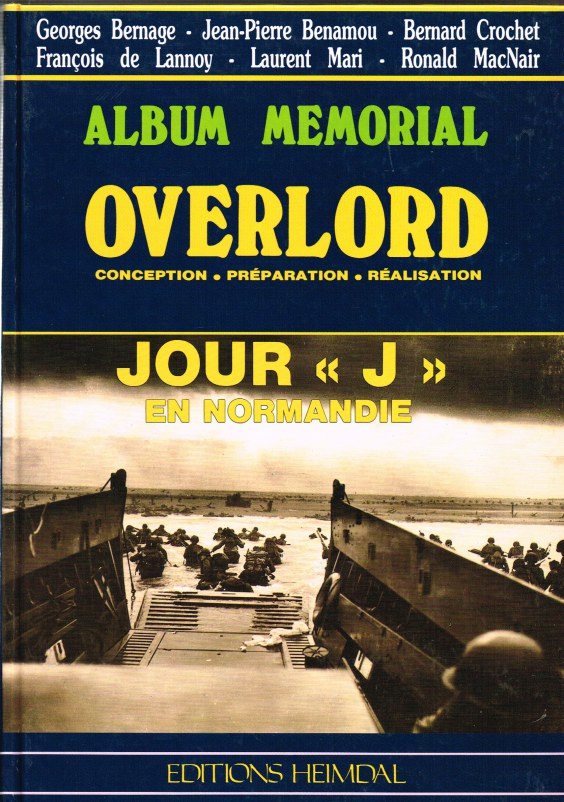 Image for ALBUM MEMORIAL: OVERLORD - CONCEPTION, PREPARATION, REALISATION