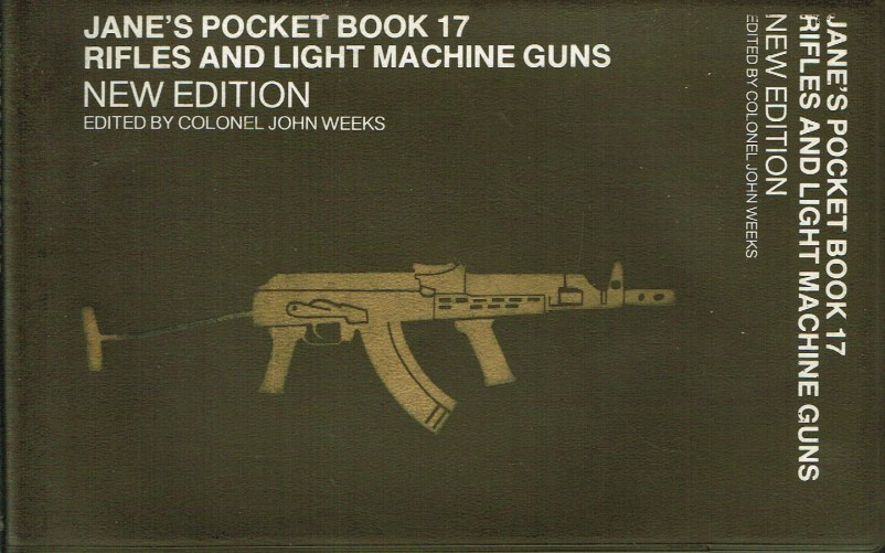 Image for JANE'S POCKET BOOK 17: RIFLES AND LIGHT MACHINE GUNS (NEW EDITION)