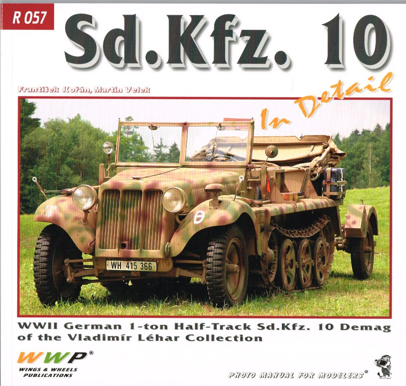 Image for SD.KFZ.10 IN DETAIL