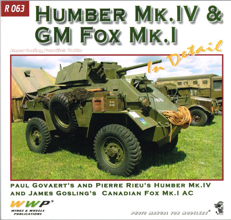 Image for HUMBER MK.IV & GM FOX MK.I IN DETAIL