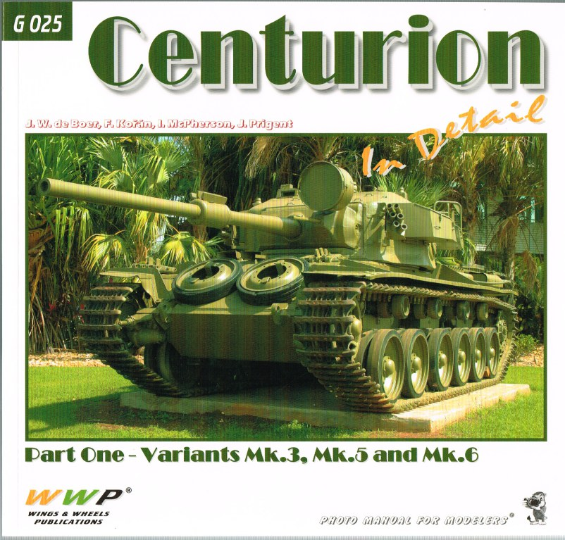 Image for CENTURION IN DETAIL PART ONE: VARIANTS MK.3, MK.5, AND MK.6