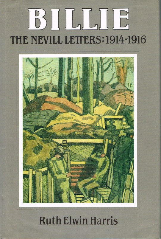 Image for BILLIE: THE NEVILL LETTERS: 1914-1916