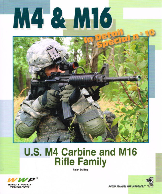 Image for IN DETAIL SPECIAL NO.10: M4 & M16 IN DETAIL SPECIAL