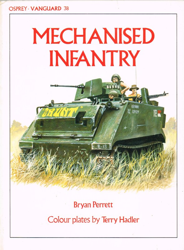 Image for OSPREY VANGUARD 38: MECHANISED INFANTRY
