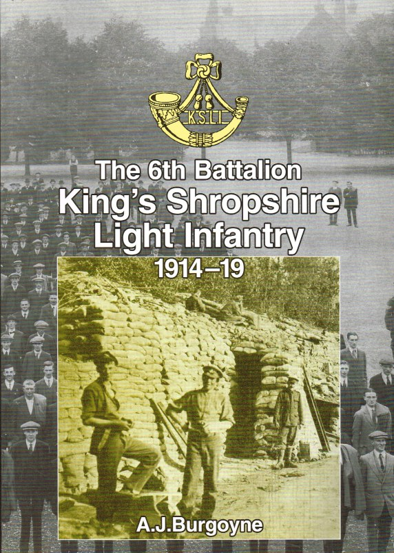 Image for THE 6TH BATTALION KING'S SHROPSHIRE LIGHT INFANTRY 1914-19
